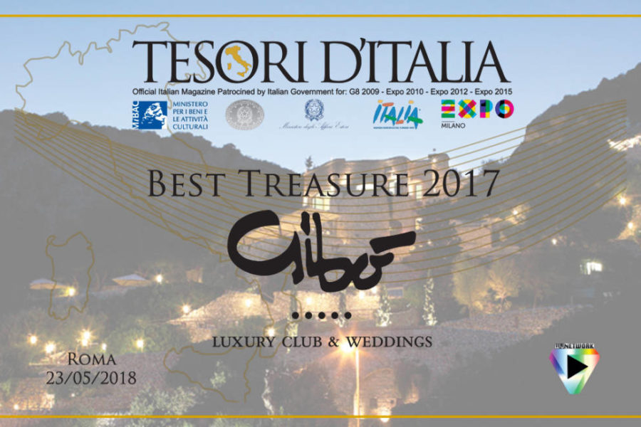 BEST TREASURE OF ITALY 2017